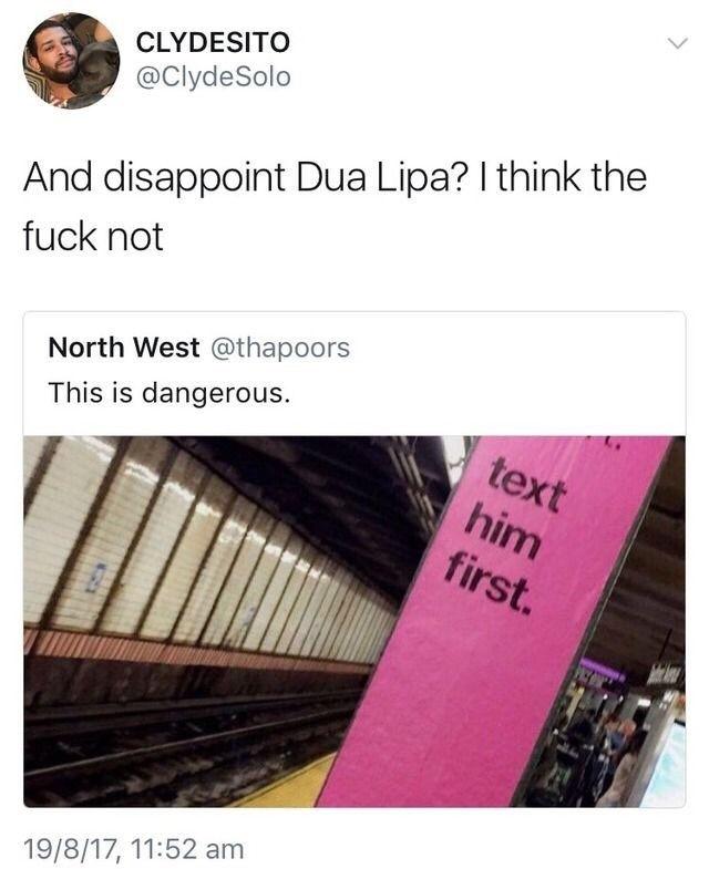 Dua Lipa Meme New Rules 8