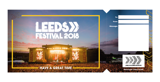 Leeds ticket