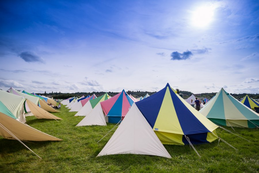 Festicket Luxury Camping Leeds