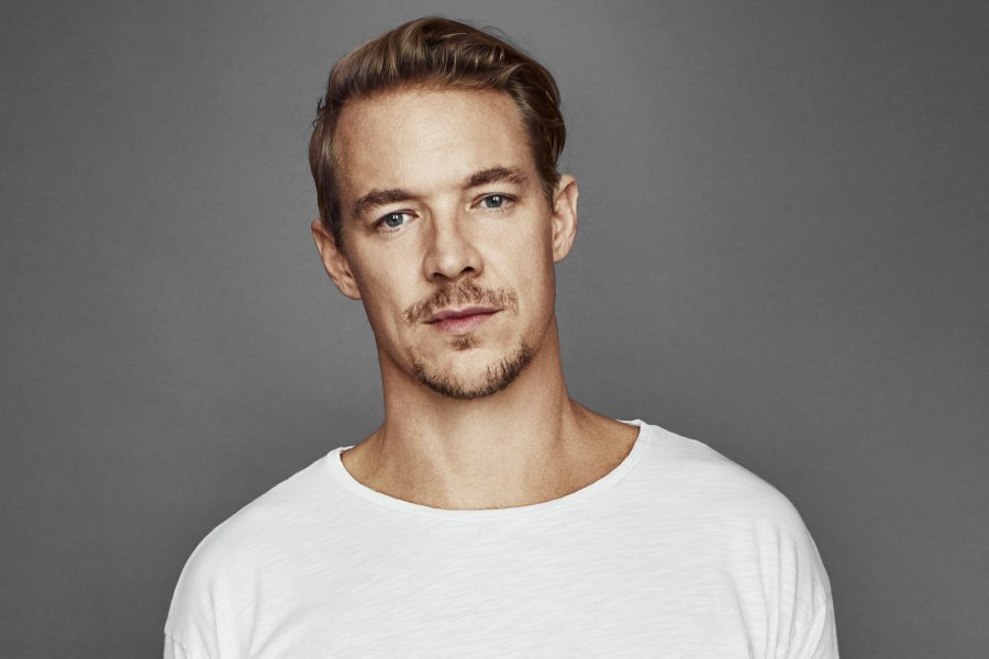 Diplo lights up the BBC Radio 1 stage