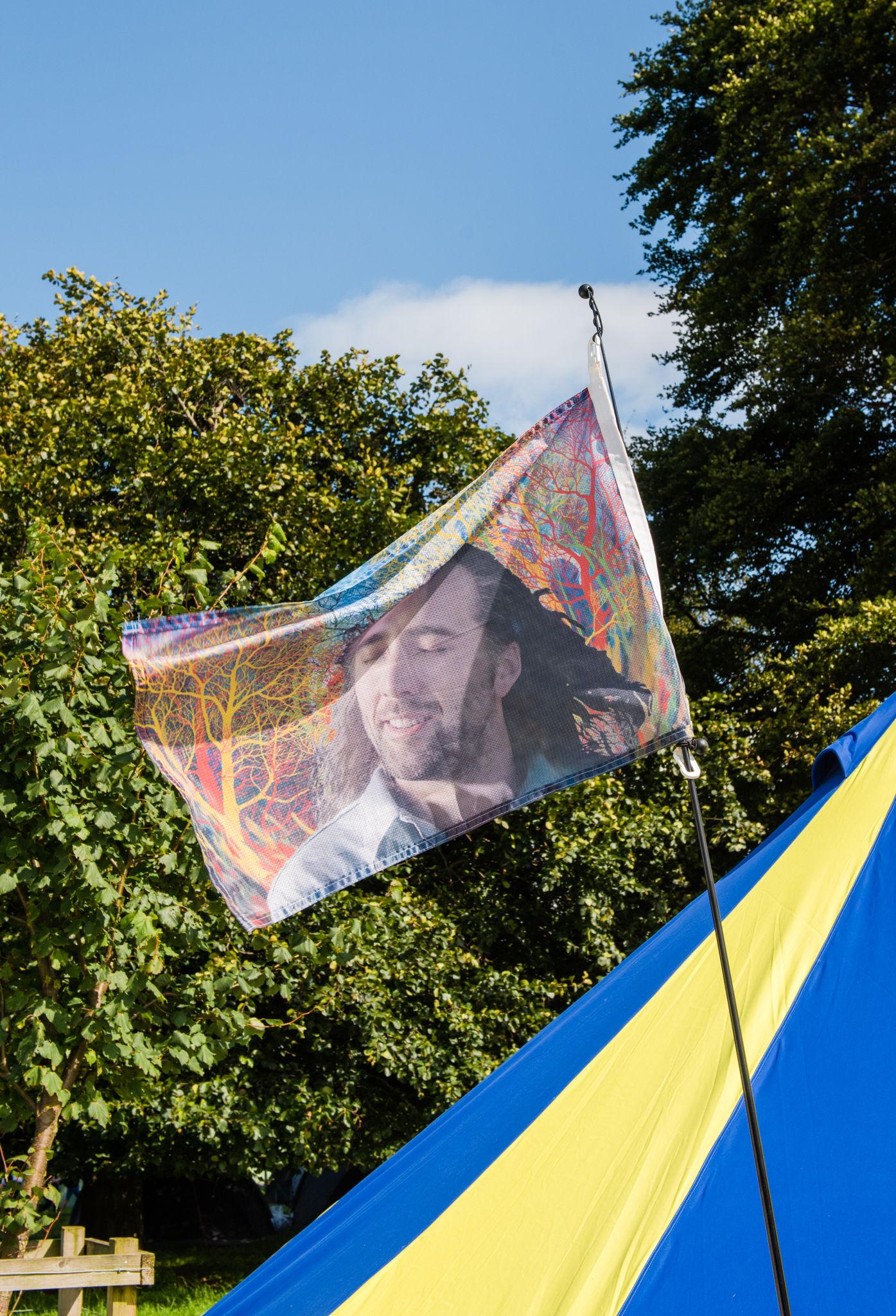 Festival Hacks Leeds Campsite Flag