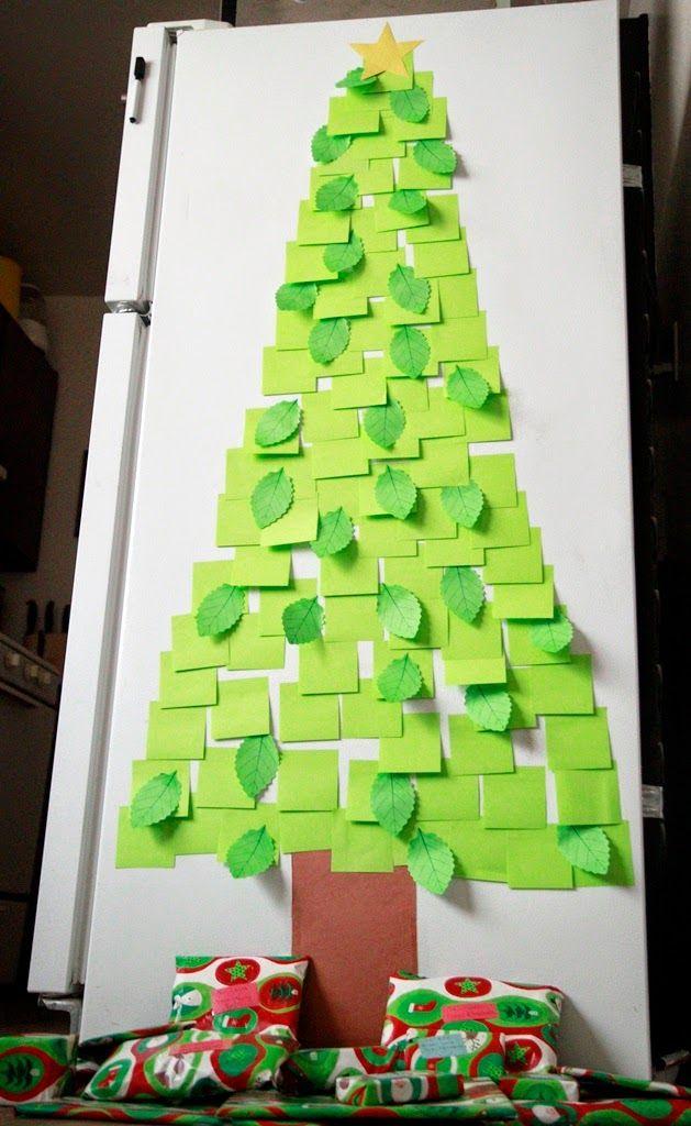 Christmas-Hacks-Note-Tree