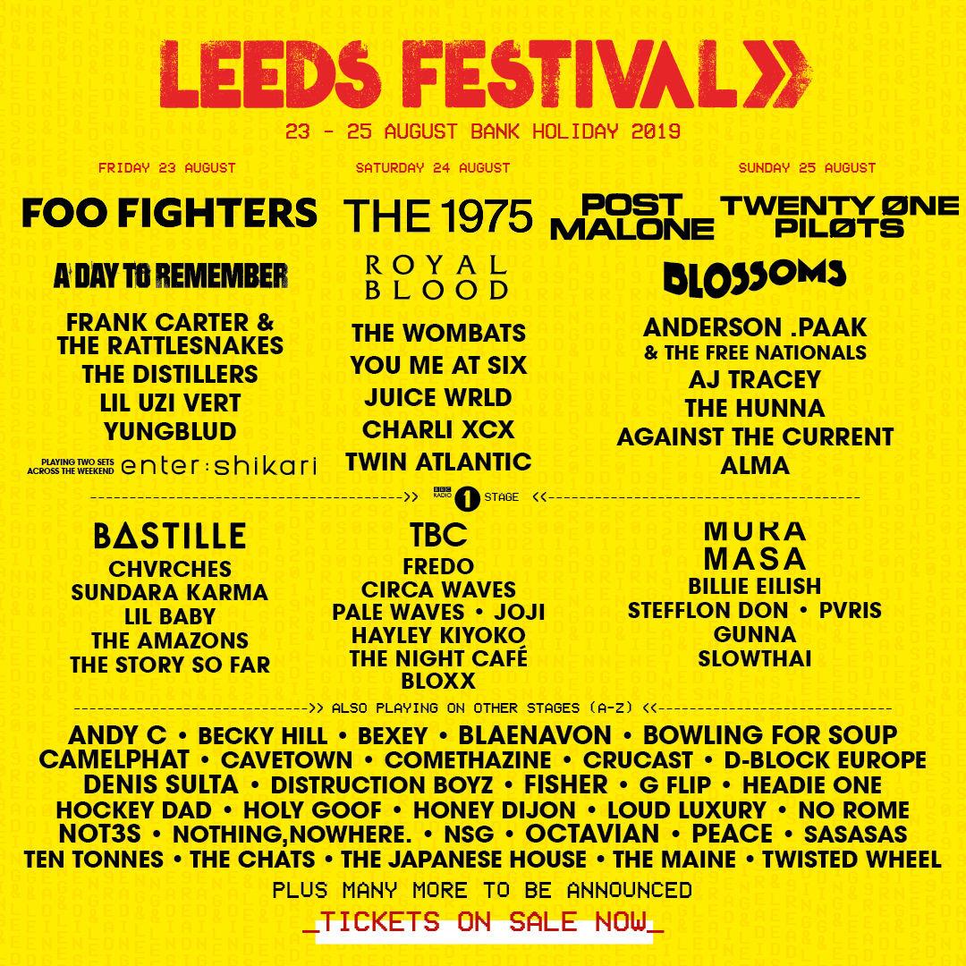 Leeds-Festival-Line-Up-Poster
