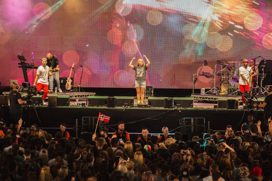 Hayley Kiyoko storms the Radio 1 Stage with pride