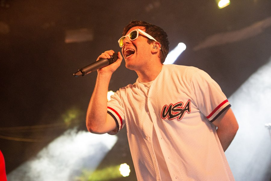 Hoodie Allen shows Leeds Festival what he's made of