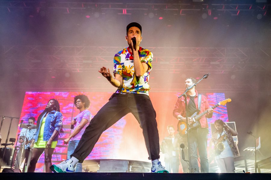 PHOTOS: Bastille lit up the BBC Radio 1 Stage Friday night