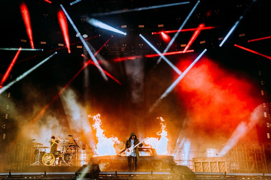 twenty one pilots are the Kings of the weekend