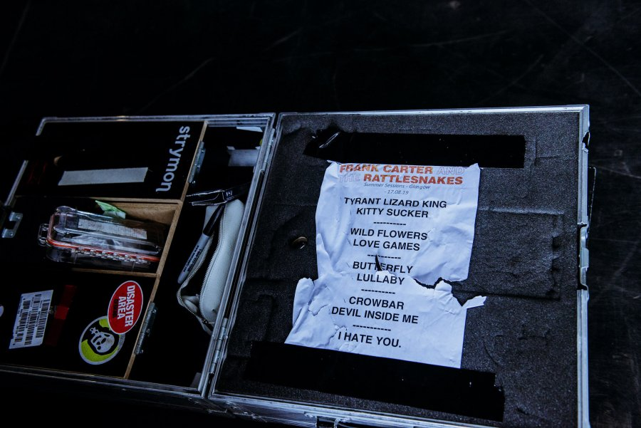 frank carter and the rattlesnakes set list leeds festival 2019