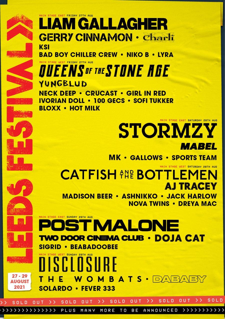 Leeds-Festival-2021-Line-Up